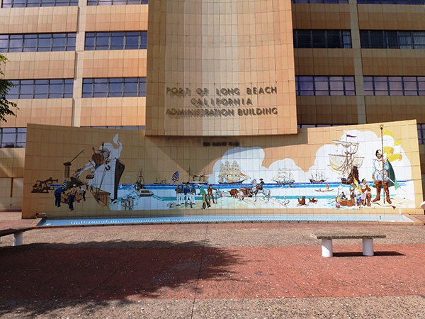 Port of Long Beach Administration Building Mural